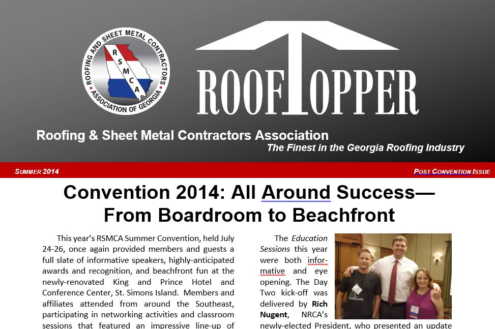 Post convention14 newsletter